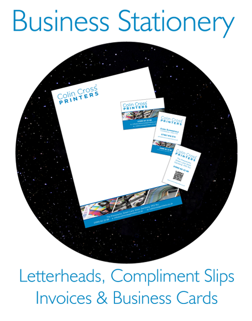 Letterheads, Comp Slips, Invoices, Business Cards